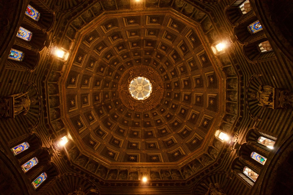 cathedral inside - dome